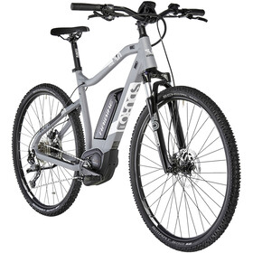 HAIBIKE SDURO Cross 3.0 Herrer, grey/white/black matte